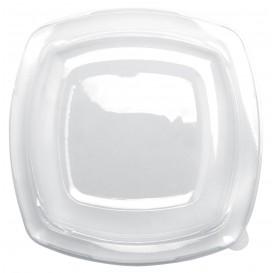 Tapa de Plastico Transp. para Plato Square PET 230mm (25 Uds)