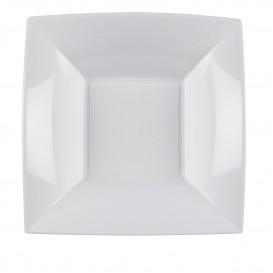 Plato de Plastico Hondo Blanco Nice PP 180mm (150 Uds)