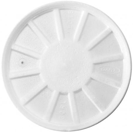Tapa Isotérmica con Respidadero Blanca Ø11,7cm (500 Uds)