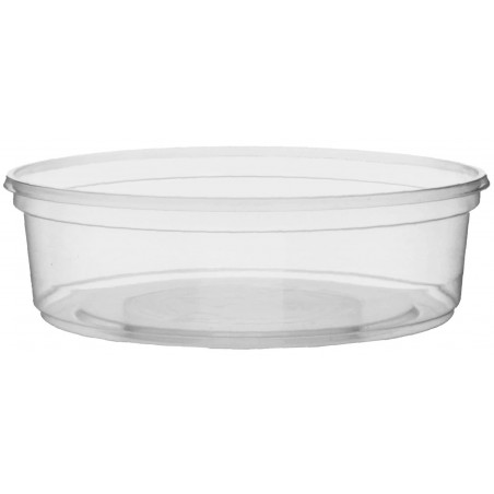 Tarrina de Plastico Transparente 125ml Ø10,5cm (50 Uds)