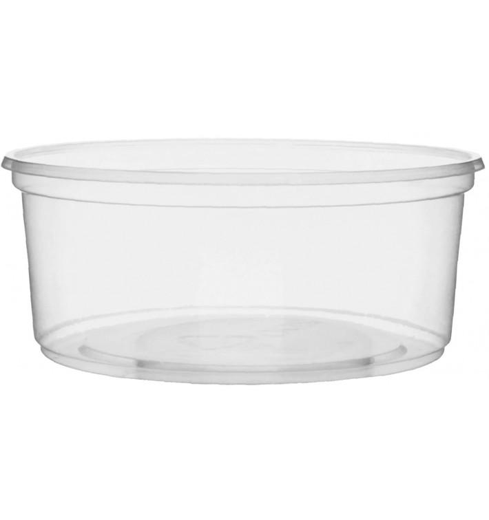 Tarrina de Plastico Transparente 200ml Ø10,5cm (100 Uds)