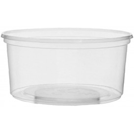 Tarrina de Plastico Transparente 250ml Ø10,5cm (100 Uds)