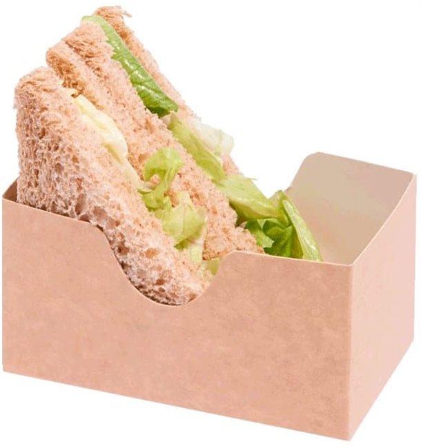 Envase para Sandwich Kraft (1000 Uds)