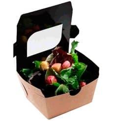 Envase de Carton Premium 11x10x5,5cm 400ml (500 Uds)