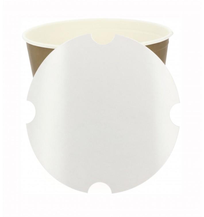 Tapa Cartón para Cubo de Pollo 2550ml (100 Uds)