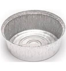 Envase de Aluminio Redondo para Pollos 1400ml (125 Uds)