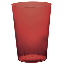 Vaso de Plastico Moon Burdeos Transp. PS 230ml (1000 Uds)