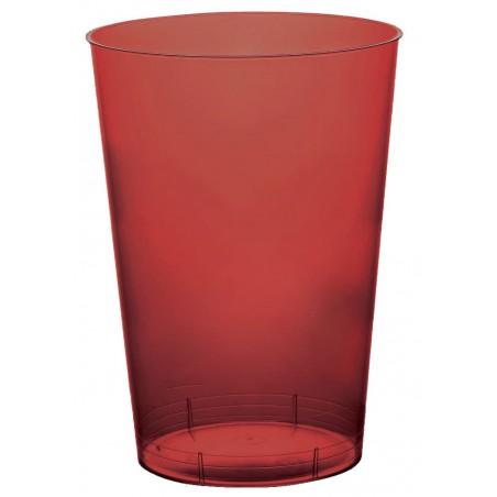 Vaso de Plastico Moon Burdeos Transp. PS 230ml (700 Uds)