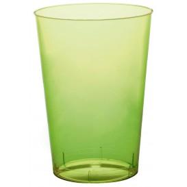 Vaso de Plastico Moon Verde Lima Transp. PS 230ml (1000 Uds)