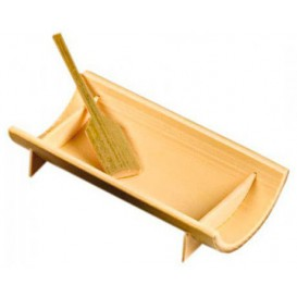 Bandeja de Bambu 10x5x2,3cm (200 Uds)