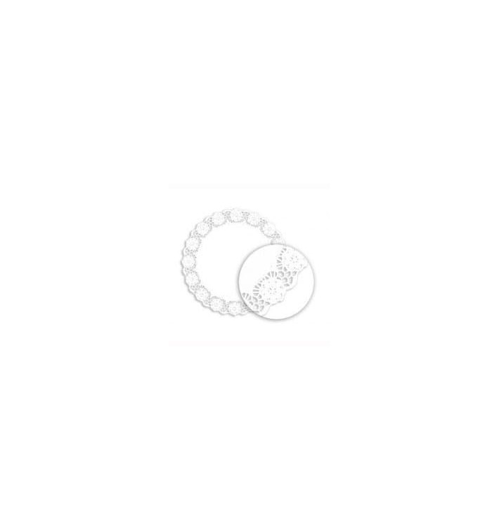 Rodal de Papel Calado Blanco LitosØ120mm (250 Uds)