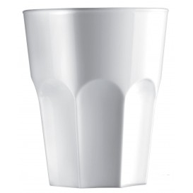 Vaso Reutilizable SAN Rox Blanco 300ml (120 Uds)