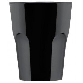 Vaso Reutilizable SAN Rox Negro 300ml (8 Uds)