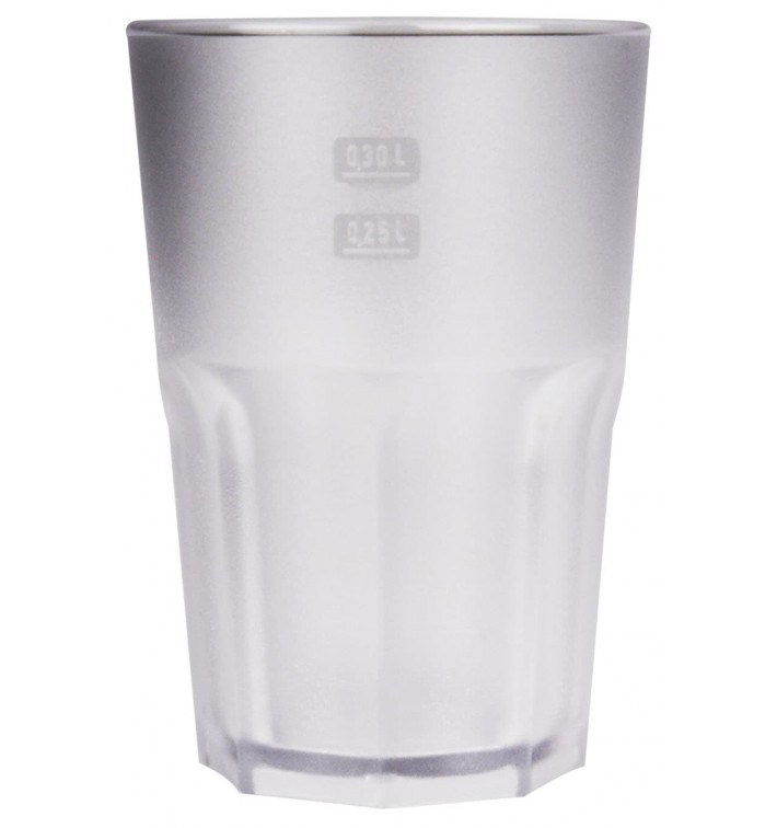 Vaso Reutilizable SAN Frost Transparente 400 ml (5 Uds)