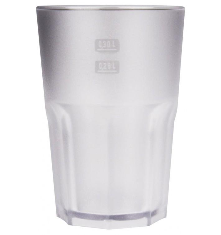Vaso Reutilizable SAN Frost Transparente 400 ml (75 Uds)