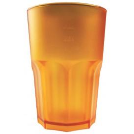 Vaso Reutilizable SAN Frost Naranja 400 ml (75 Uds)