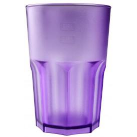 Vaso Reutilizable SAN Frost Lila 400 ml (75 Uds)