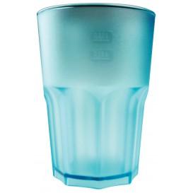 Vaso Reutilizable SAN Frost Turquesa 400 ml (5 Uds)