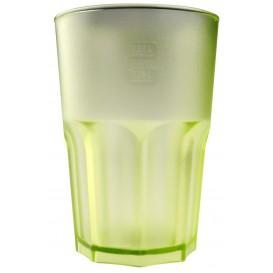 Vaso Reutilizable SAN Frost Verde Lima 400 ml (75 Uds)