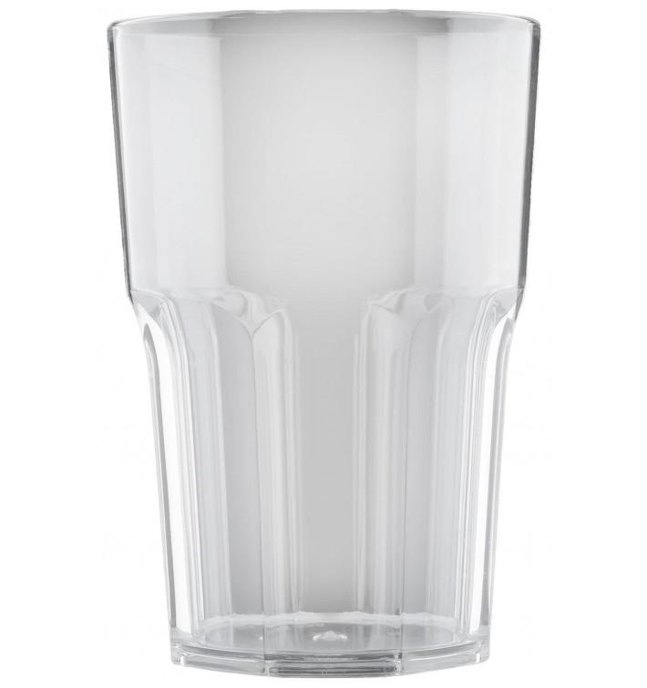 Vaso Reutilizable SAN Granity Transparente 400 ml (5 Uds)