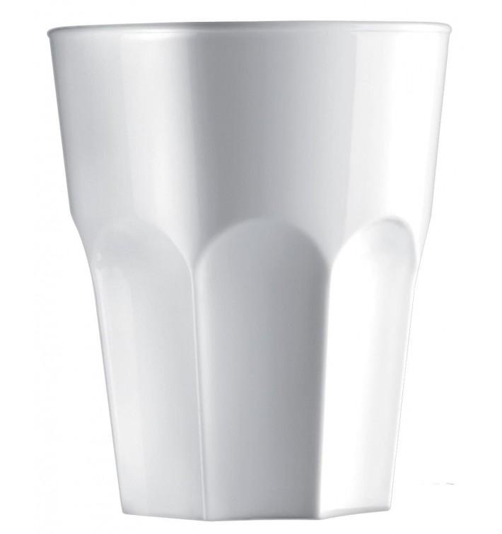 Vaso Reutilizable SAN Granity Blanco 400 ml (75 Uds)