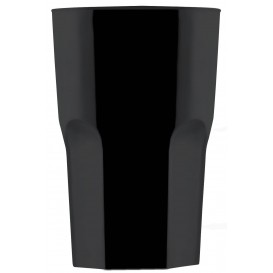 Vaso de Plastico Blanco SAN Ø85mm 400ml (5 Uds)