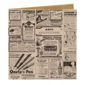"""Bolsa Antigrasa Abierta 2L """"Times"""" 16x16,5cm (5000 Uds)"""