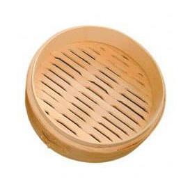 Envase Maxi Dim Sun de Bambú Ø20x6cm (32 Uds)