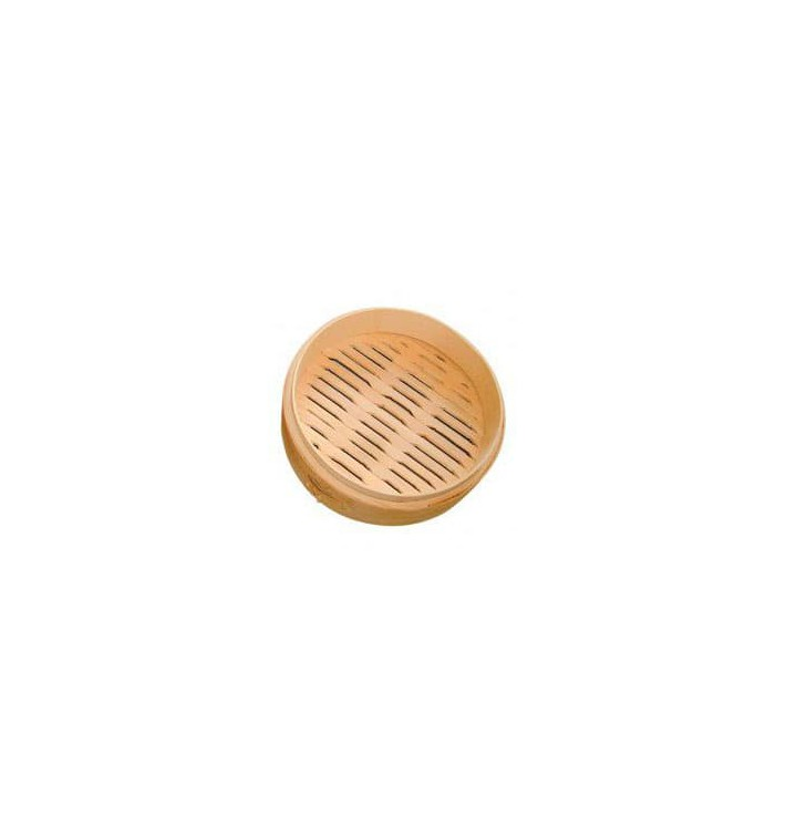 Envase Maxi Dim Sun de Bambú Ø30x6cm (16 Uds)