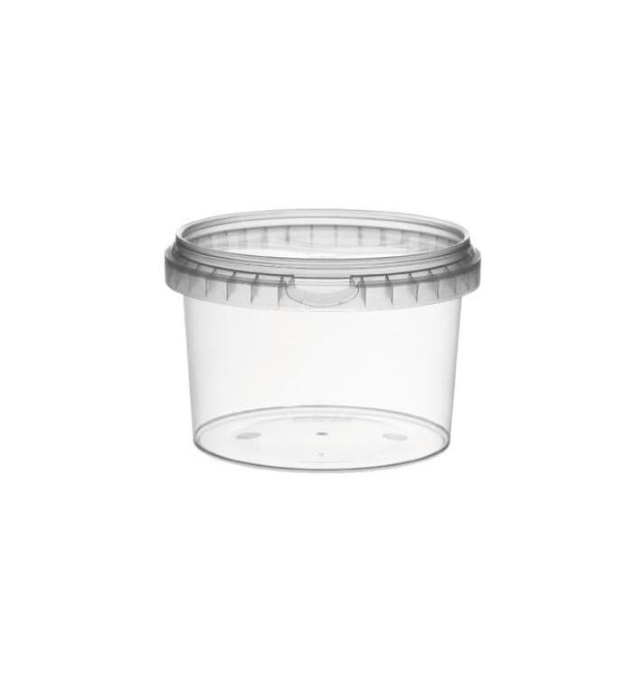 Envase Plastico con Tapa Inviolable 120ml Ø6,9cm (1000 Uds)