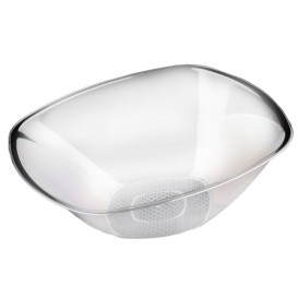 Bol de Plastico Transparente Ø277mm Square PS 3000ml (3 Uds)