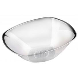 Bol de Plastico Transparente Ø277mm Square PS 3000ml (30 Uds)