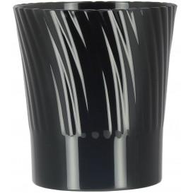 Vaso Plastico Degustacion Negro 165ml (432 Uds)