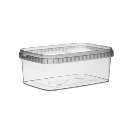 Envase Rectangular inviolable 1200ml 192x126mm (13 Uds)