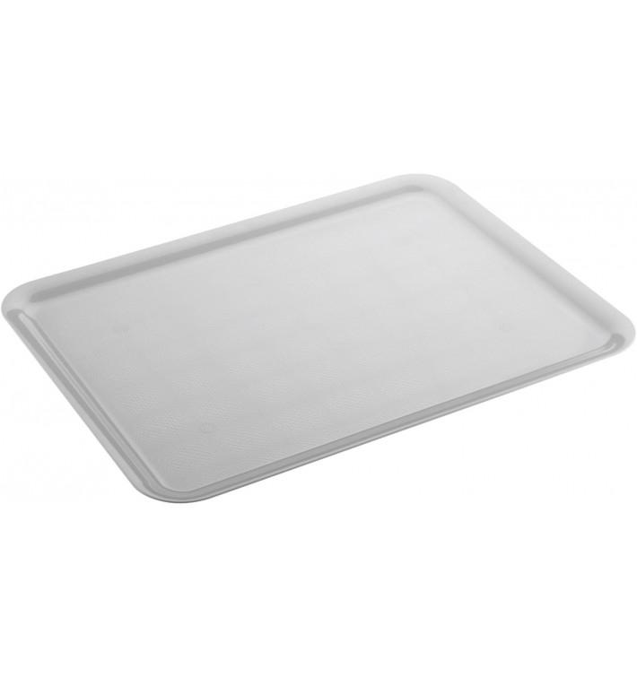 Bandeja Plastico Tray Blanca 37x50cm (4 Uds)