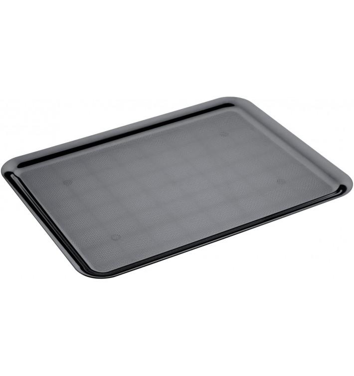 Bandeja Plastico Tray Negra 37x50cm (24 Uds)