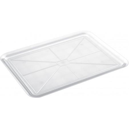 Bandeja Plastico Tray Transparente 37x50cm (24 Uds)