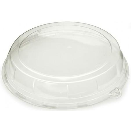 Tapa de Plástico PET para Bandeja de 34x8cm (5 Uds)