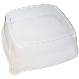Tapa de Plastico para Bandeja de 27x27x8 cm (25 Uds)