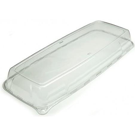 Tapa de Plastico para Bandeja de 17x45x5 cm (25 Uds)
