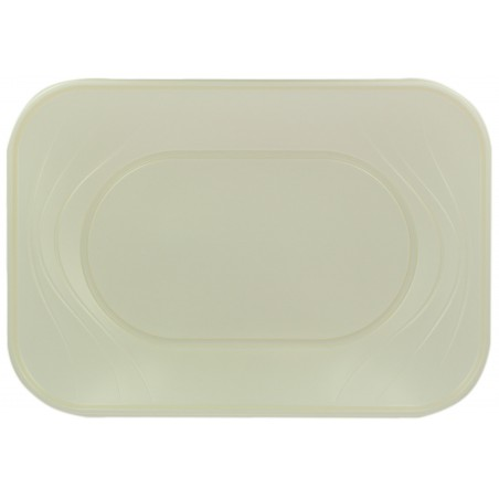 "Bandeja de Plastico PP ""X-Table"" Perla 330x230mm (2 Uds)"