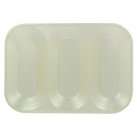 "Bandeja Plastico PP ""X-Table"" 3C Perla 330x230mm (2 Uds)"