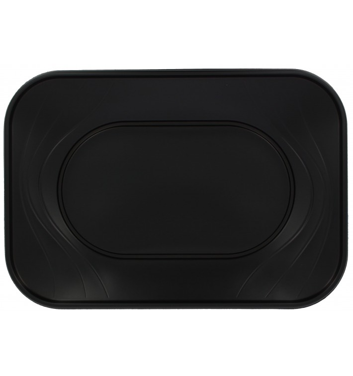 "Bandeja de Plastico PP ""X-Table"" Negro 330x230mm (60 Uds)"