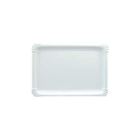 Bandeja de Carton Rectangular 18x24cm (100 Uds)