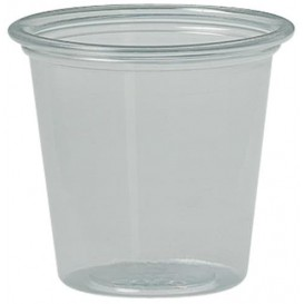 Tarrina de Plastico PS para Salsas 37ml Ø43mm (250 Uds)