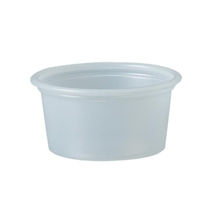 Tarrina de Plastico PS para Salsas 22ml Ø44,5mm (250 Uds)