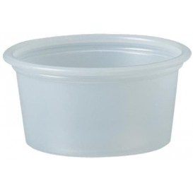 Tarrina de Plastico PS para Salsas 22ml Ø44,5mm (5000 Uds)