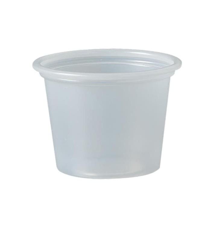 Tarrina de Plastico PS para Salsas 30ml Ø44,5mm (250 Uds)