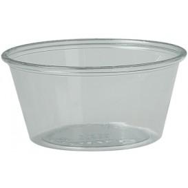 Tarrina de Plastico PET para Salsas 100ml Ø74mm (2500 Uds)