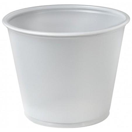 Tarrina de Plastico PS para Salsas 165ml Ø74mm (250 Uds)